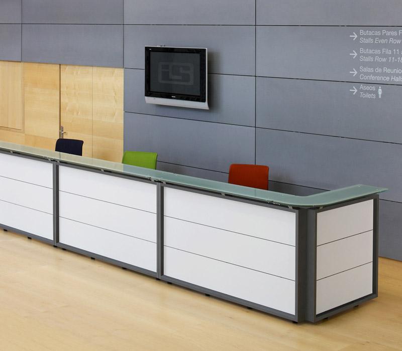 Mobiliario de oficina madrid mhf for Mobiliario recepcion oficina