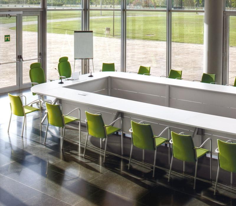 Mesa de sala de reuniones Public